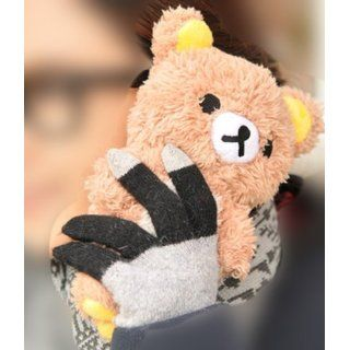 3D Cute Teddy Bear Doll Plush Cover Case For LG Optimus L9 P760 P769 (Brown) Cell Phones & Accessories