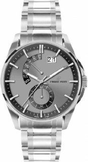 Pierre Petit Men's P 793D Le Mans Luminous Big Date Brushed And Polished Stainless Steel Bracelet Watch at  Men's Watch store.