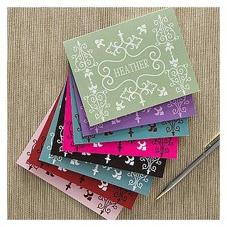 French Design Personalized Note Card Set Health & Personal Care