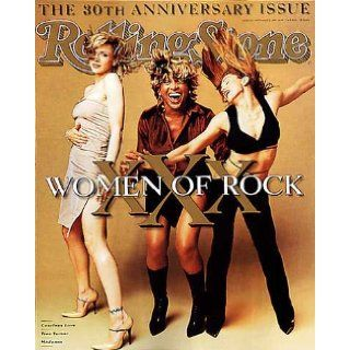 Rolling Stone Magazine, Issue 773, November 1997, Women of Rock Madonna, Tina Turner, Courtney Love Cover Jann S Wenner Books