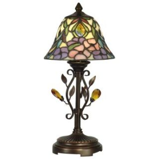 Dale Tiffany Crystal Peony Accent Lamp   Table Lamps