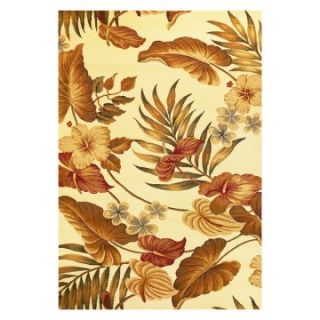KAS Rugs LIF54 Lifestyles Tropical Area Rug   Area Rugs
