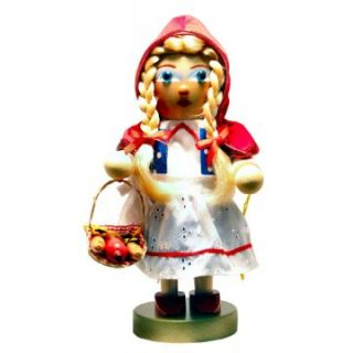 SIGNED Steinbach Chubby Little Red Riding Hood Nutcracker   Nutcrackers