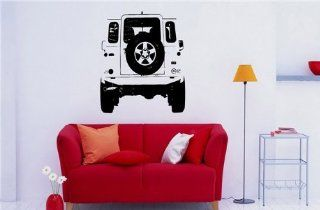 Wall MURAL Vinyl Sticker Car LAND ROVER DEFENDER S. 781