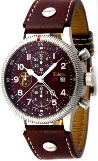 Tutima Grand Classic Havana LE 43mm Watch   Bordeax Dial, Leather Strap 781 01 Watches