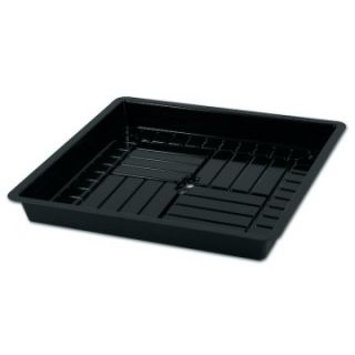 American Hydroponics 3 x 3 ft. Heavy Duty Tray   Black   Supplies