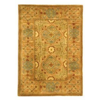 Safavieh Classic CL301B Area Rug   Gold/Peach   Area Rugs