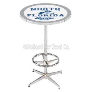 Holland Collegiate 42 in. Chrome Pub Table   Pub Tables