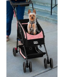 Pet Gear Travel System II Pet Stroller   Medium   Pink   Dog Carriers