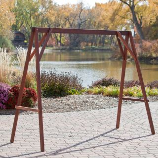 Coral Coast Wood Porch Swing Stand   Frames & Accessories
