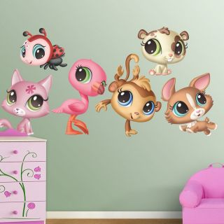 Hasbro Littlest Pet Shop Wall Decal   Wall Decals