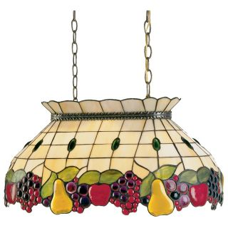 Dale Tiffany Fruit Pool Hanging Fixture Pendant   Tiffany Ceiling Lighting