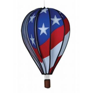 Premier Designs 22 in. Patriotic Hot Air Balloon Wind Spinner   Wind Spinners