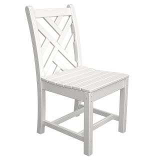 POLYWOOD® Chippendale Recycled Plastic Dining Side Chair   Commercial Patio Furniture
