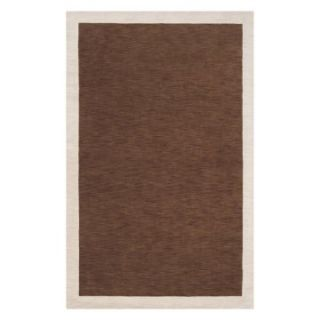 angeloHOME Madison Square MDS 1002 Area Rug   Brown   Area Rugs