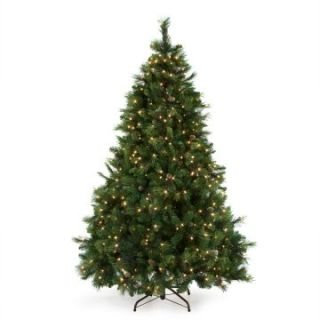 Carolina Pine Full Pre lit Christmas Tree   Christmas Trees