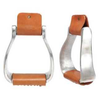 Kelly Silver Star Curved Aluminum Stirrup   Western Saddles and Tack