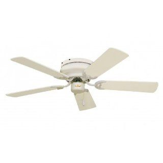 "Emerson CF805SAW Summer White 52 inch Snugger 5 Blade 52"" Snugger Flushmount Indoor Ceiling Fan   Blades Included   Lighting Products"