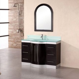 Design Element Jade 48 in. Single Bathroom Vanity Set   Single Sink Bathroom Vanities