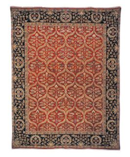 Safavieh Old World OW119A Area Rug   Red/Navy   Area Rugs