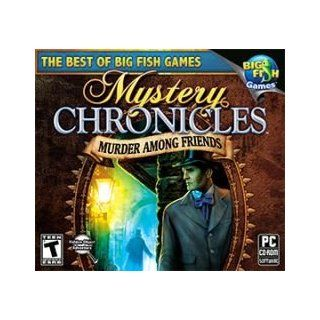 Mystery Chronicles Murder Among Friends Big Fish Games Computer Software [Toy] Toys & Games