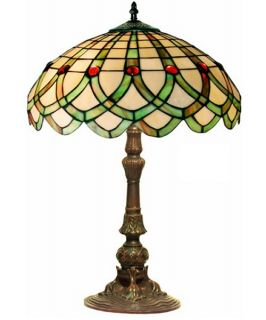 Tiffany Style Ribbon Table Lamp   Table Lamps