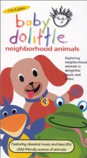 Baby Dolittle Neighborhood Animals [VHS] Baby Einstein, Julie Clark Movies & TV