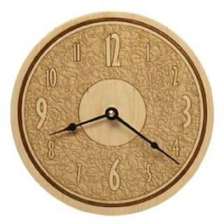 Art Deco Maple Wall Clock   Wall Clocks