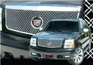 2002 2006 Cadillac Escalade E&G Classics Dual Weave Heavy Mesh Grille Grill 2002 2003 2004 2005 2006 Automotive