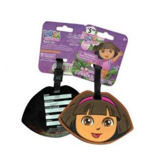 Dora the Explorer Face Silicone Luggage Tag   Kids Bag Tag Clothing