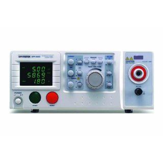 GW Instek GPI 825 LED Digital Display AC/IR Hi Pot Electrical Safety Tester, 3 Range, 500VA Precision Measurement Products