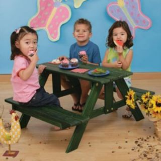 KidKraft Kids Picnic Table   Picnic Tables