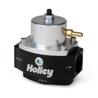 Holley 12 848 10AN Inlet / Outlet 8AN Return 40 70 PSI Billet Fuel Pressure Regulator Automotive