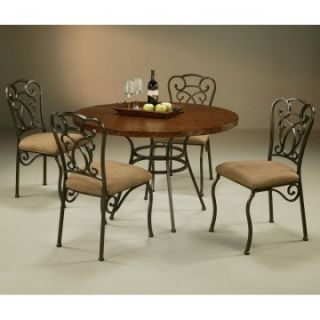 Pastel Wilton 5 pc. Copperstone Top Dining Table Set   Dining Table Sets