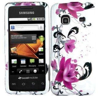 Purple Lily Hard Case Cover for Samsung Galaxy Precedent M828C Cell Phones & Accessories