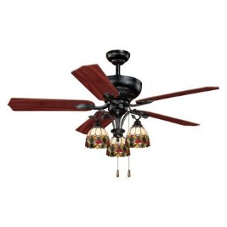 AireRyder F0006 French Country 52 in. Indoor Ceiling Fan   Oil Shale   Ceiling Fans