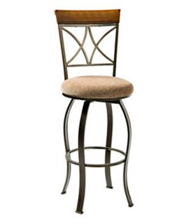 Powell Hamilton Swivel Counter Stool   Bar Stools