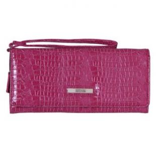 Kenneth Cole Reaction (832) Wristlet Clutch Wallet (Berry) Clothing