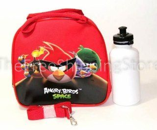 Angry Birds Space Lunch Bag for Kids with Water Bottle & Adjustable Shoulder Strap Toys & Games