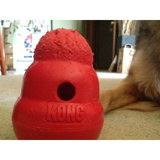 KONG Wobbler Treat Dispensing Dog Toy, Large  Pet Chew Toys