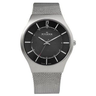 Skagen Solar Mesh 833XLSSB1 Stainless Steel Case Steel Bracelet Men's Watch at  Men's Watch store.