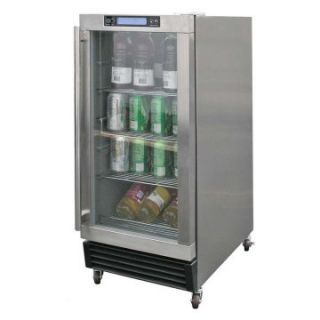 Cal Flame Outdoor Stainless Steel Beverage Cooler   Outdoor Kitchens