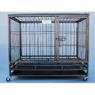 Go Pet Club Heavy Duty Metal Pet Cage   Dog Crates