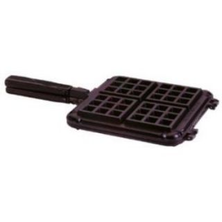 Nordic Ware International Specialties Heavy Cast Aluminum Original Stovetop Belgian Waffler   Griddle & Grill Pans