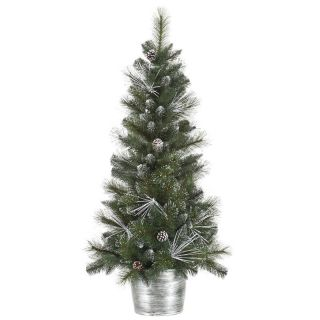 Vickerman 4 ft. Frost White Mix Tip Pre Lit Christmas Tree   Christmas Trees