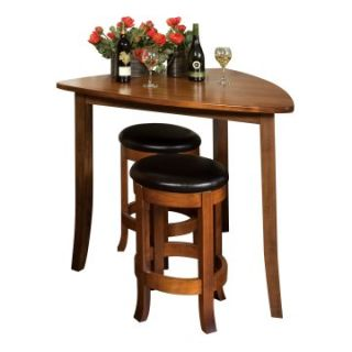 Trilogy Triangle Bar Height Pub Table   Pub Tables