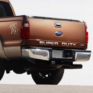 Ford Super Duty Trucks Tail Gate Chrome Letter Insert Automotive