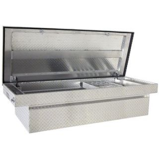 Buyers Aluminum Cross Box Full Size Truck Tool Box   Truck Tool Boxes