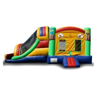 EZ Inflatables Fun House Water Bounce House Combo   Commercial Inflatables