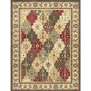 Loloi Rugs St 05 Multi beige 7.7 Round Rug From The Stanley Collection   Area Rugs
